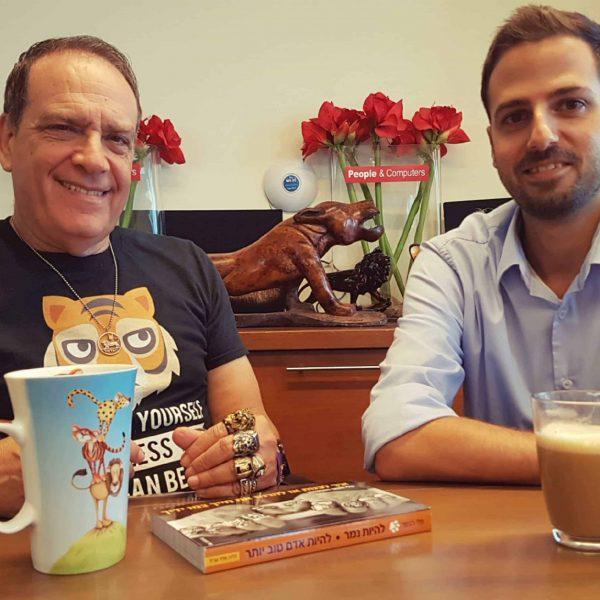 קפה עם מנטור: ראיון עם פלי הנמר